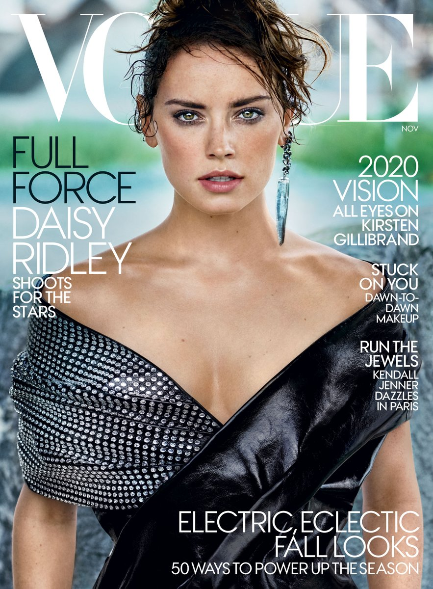 Star Wars' Daisy Ridley Is Vogue's November Cover Star