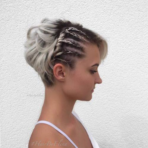 20 Cute And Easy Braids For Women With Short Hair