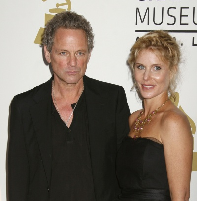 Lindsey Buckingham with gracious, Wife Kristen Messner