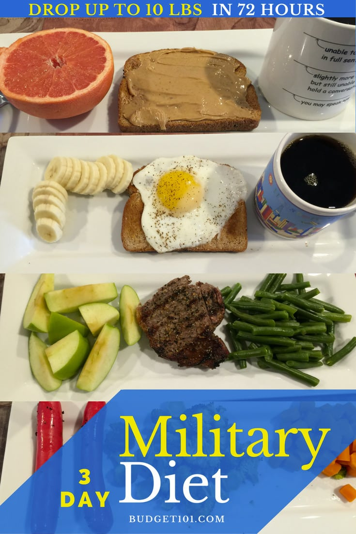 Military Diet: Lose 10 Pounds In 3 Days (Guaranteed Results)