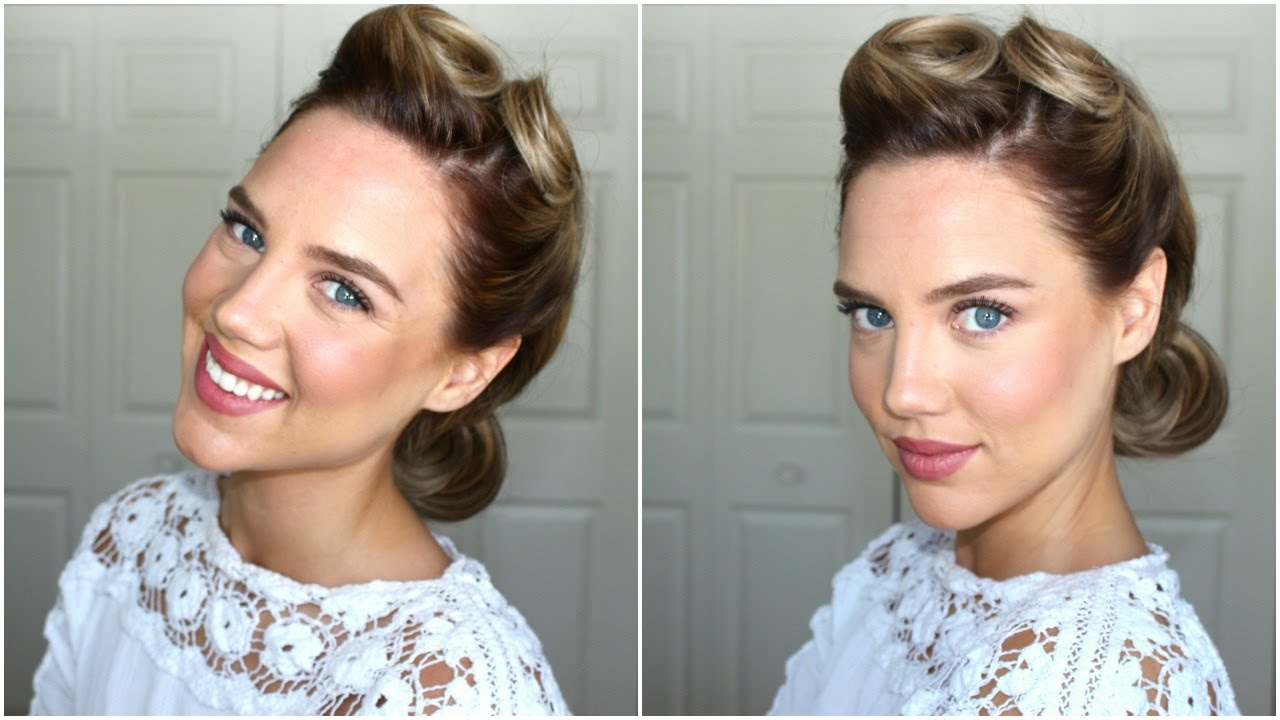 1940s Hair & Makeup to Get the Vintage Hairstyle
