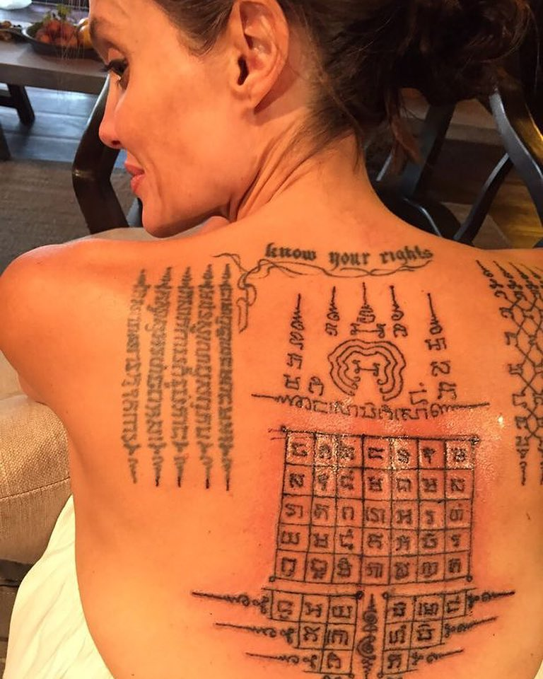 20 Best Inspirational Female Celebrity Tattoos Youll Be