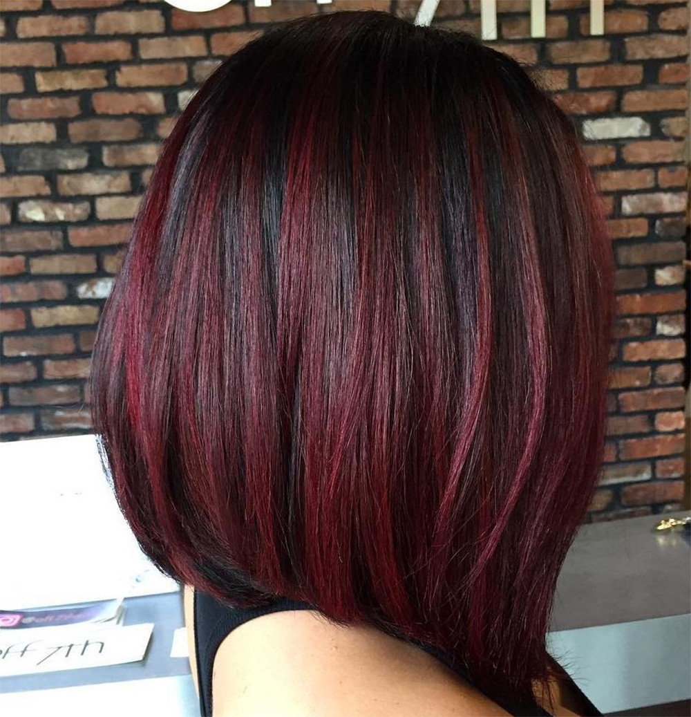 Black Cherry Hair Color Idea How To Rock Black Cherry Hair With Style