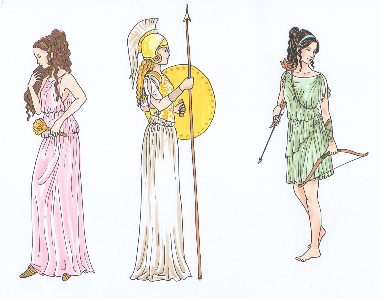 Here Are The Name Of 10 Goddess Of Beauty And Their Stories