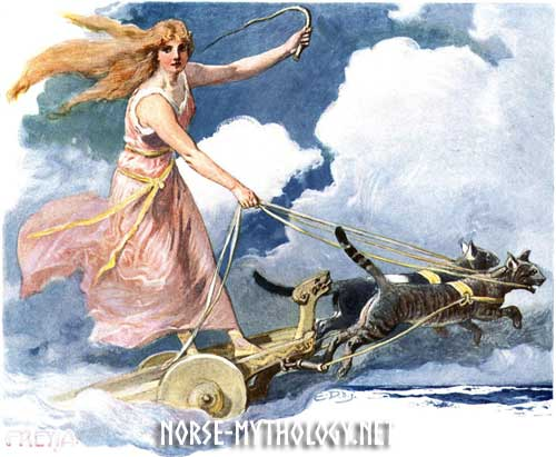 Goddess 101: Who Is Freya, The Goddess Of Feminine