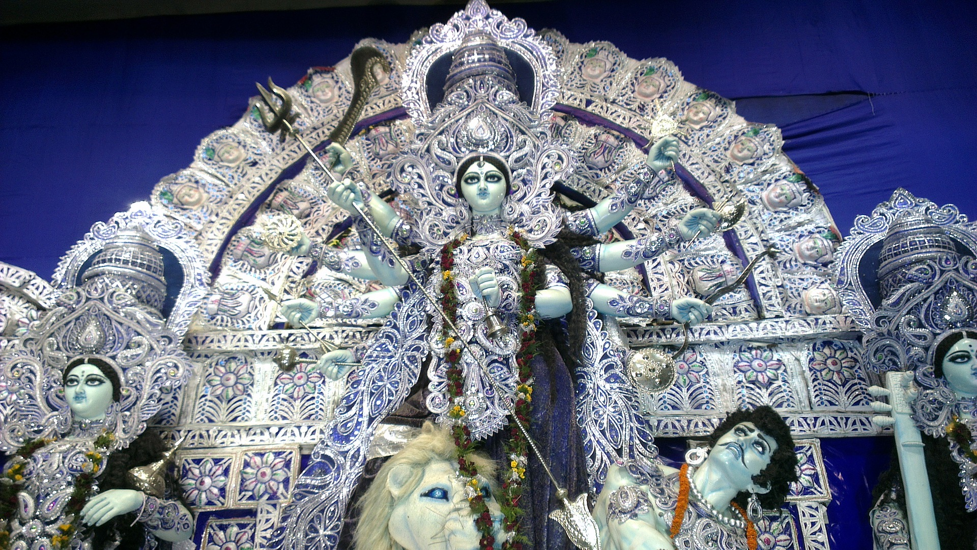 Whats The Story Behind The Hindu Goddess Durga?