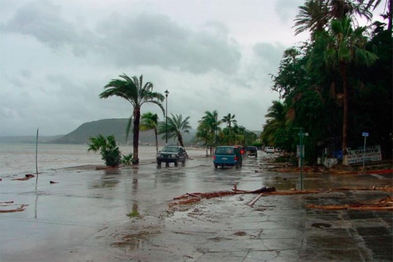 Lorena, huracán dejará lluvias en Tamaulipas
