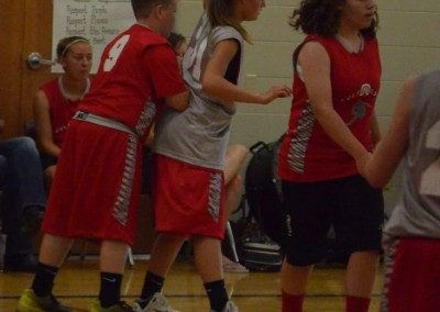 Youth basketball game