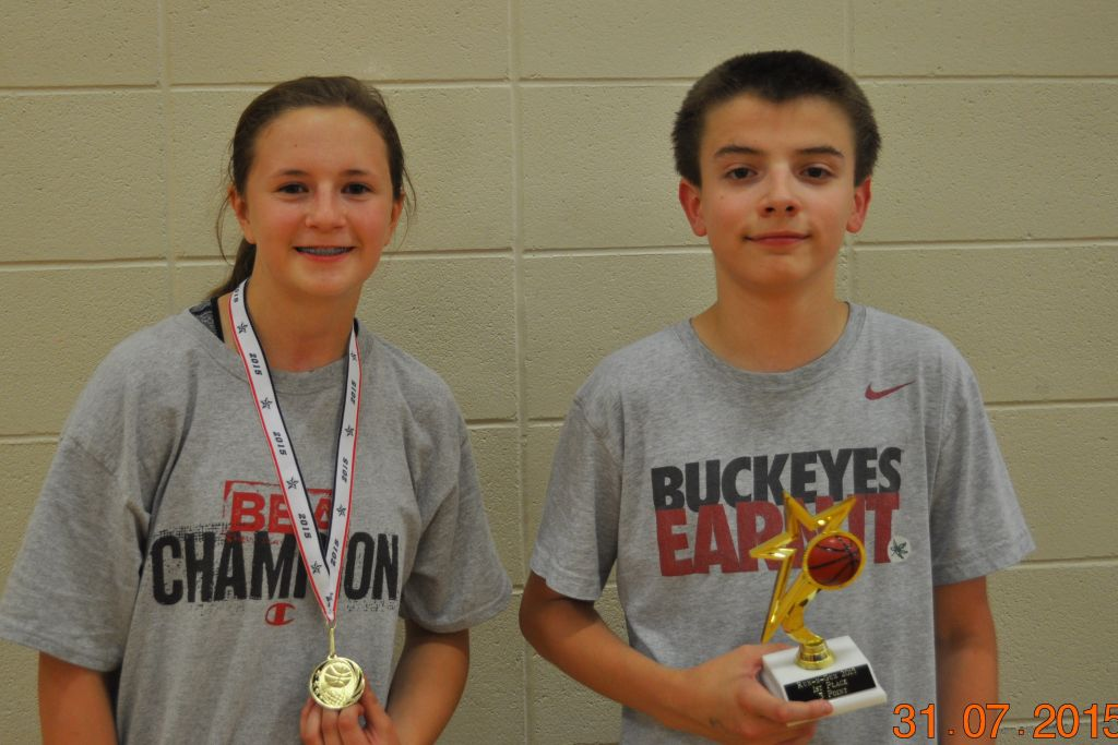 Co-ed basketball league and contests