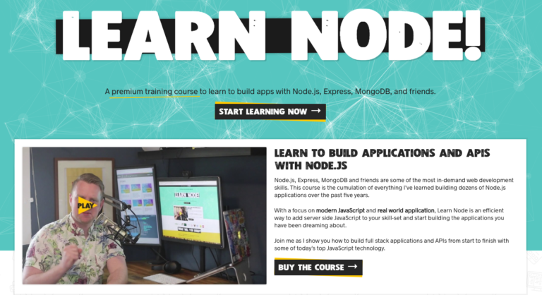 Cover Image for Giveaway: Learn Node by Wes Bos