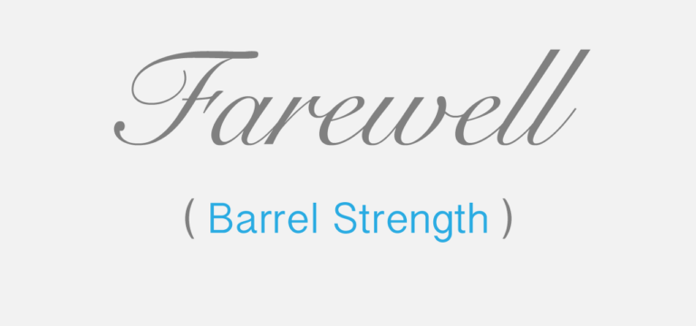 Cover Image for Farewell Barrel Strength