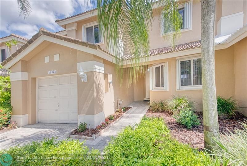 15843 SW 10th St - 33027 - FL - Pembroke Pines