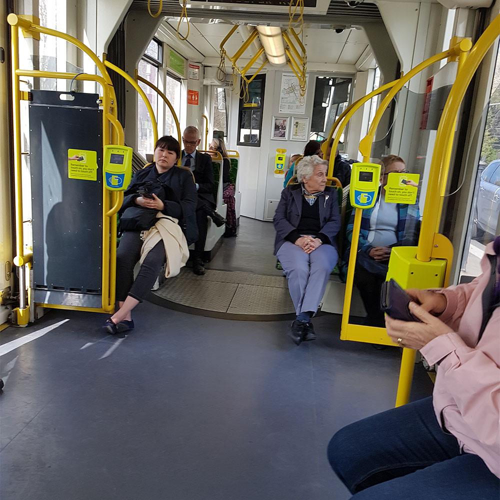 Metro Train Underground