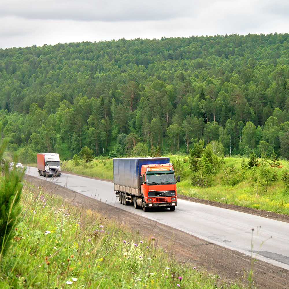 Heavy Truck Passbys