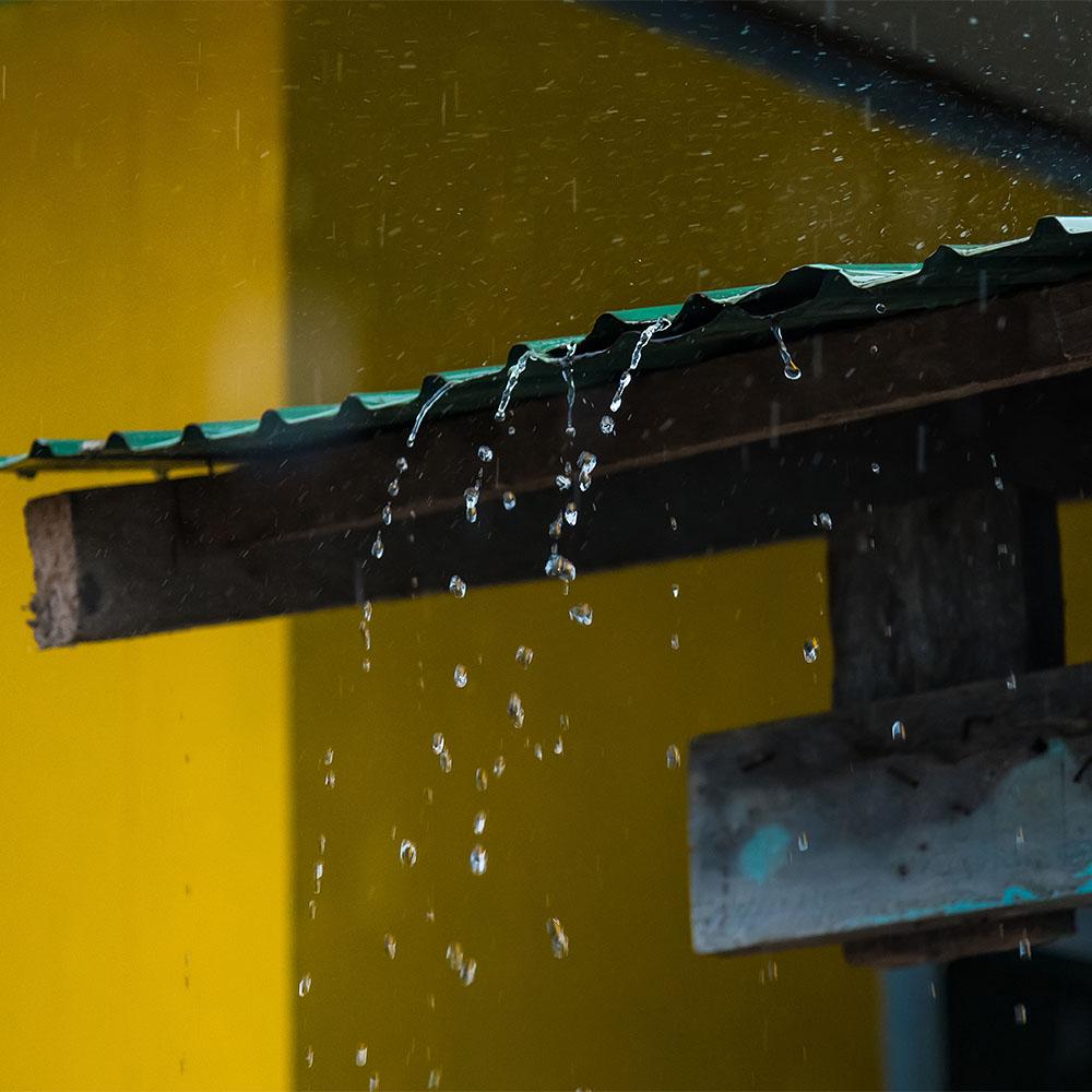 Light Rain on Metal Roof