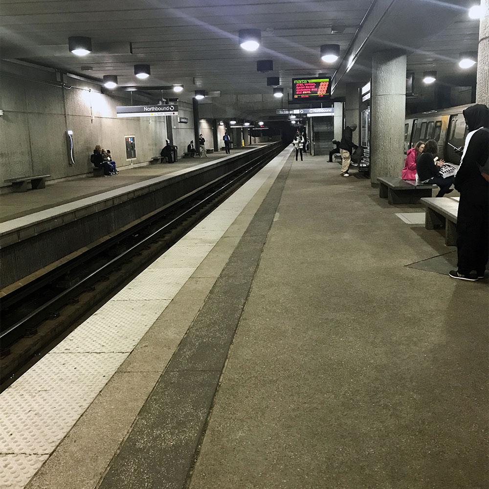 Train Subway Approach
