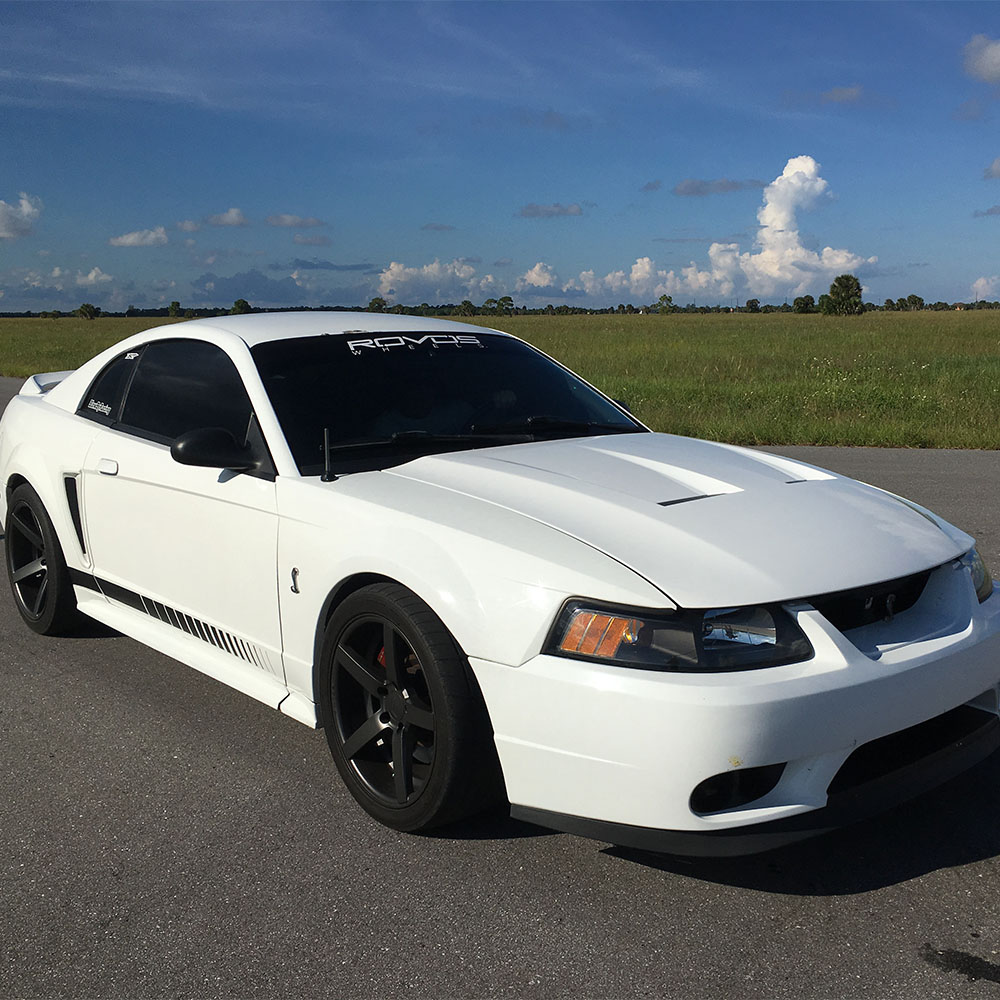 1999 Ford Mustang Cobra Cornering
