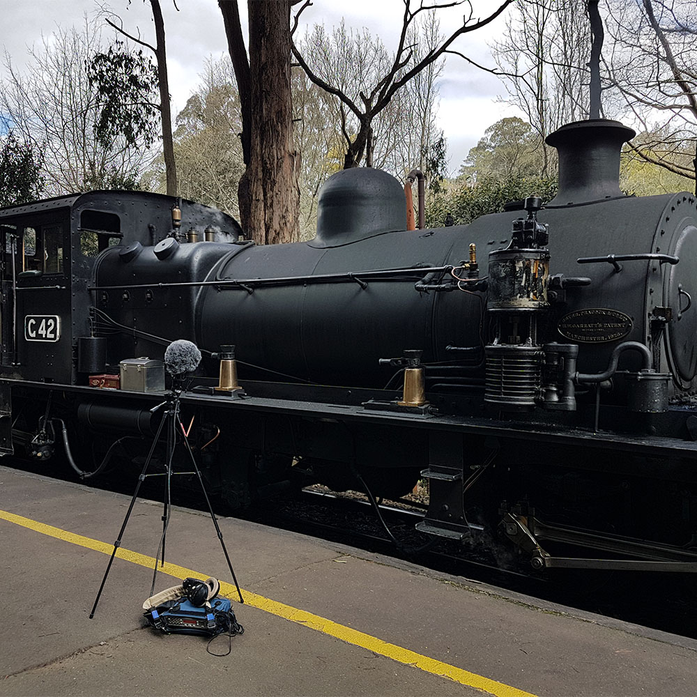 Steamtrain Idle