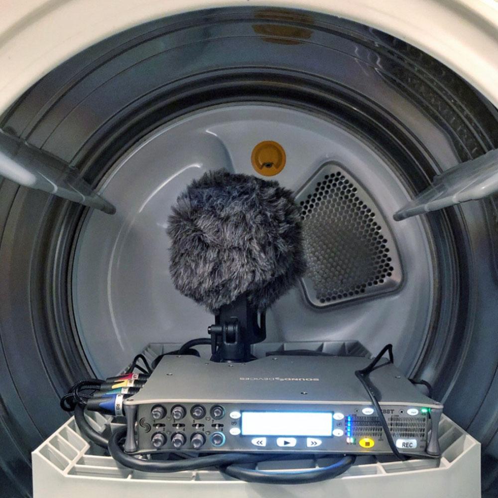 Dryer Interior with Beads