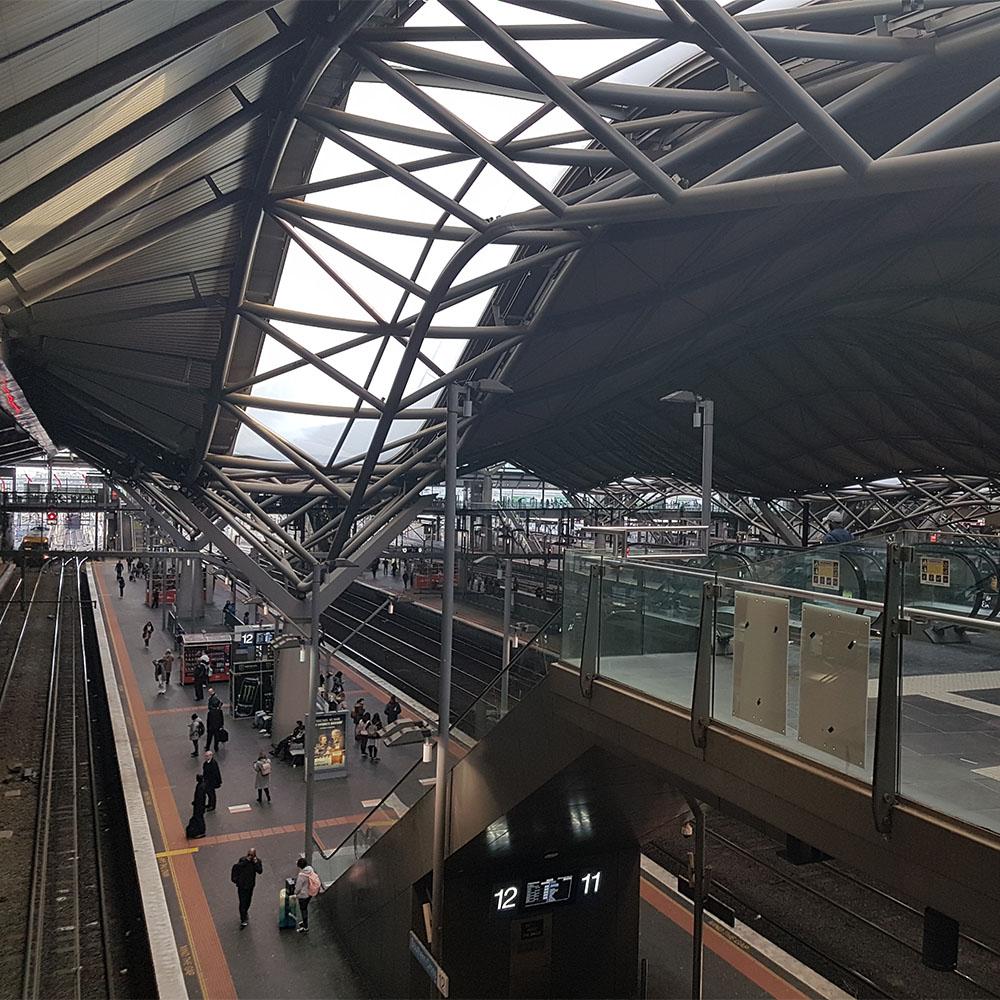 Southern Cross Station Platform