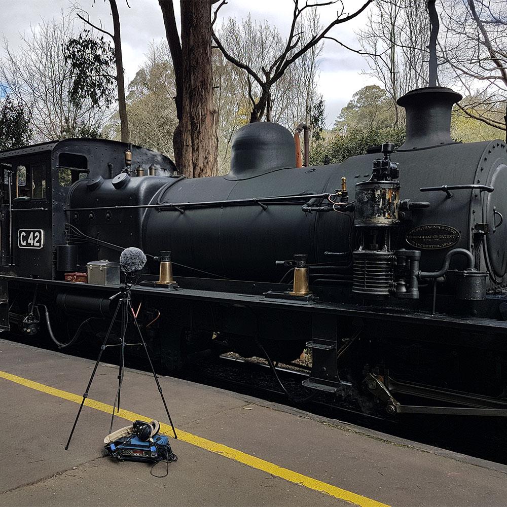 Steamtrain Exterior