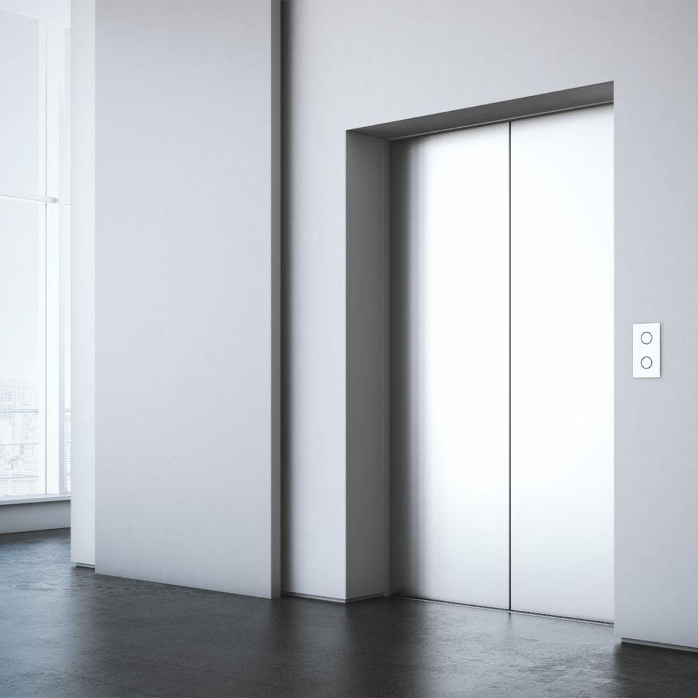Large Elevator Operating