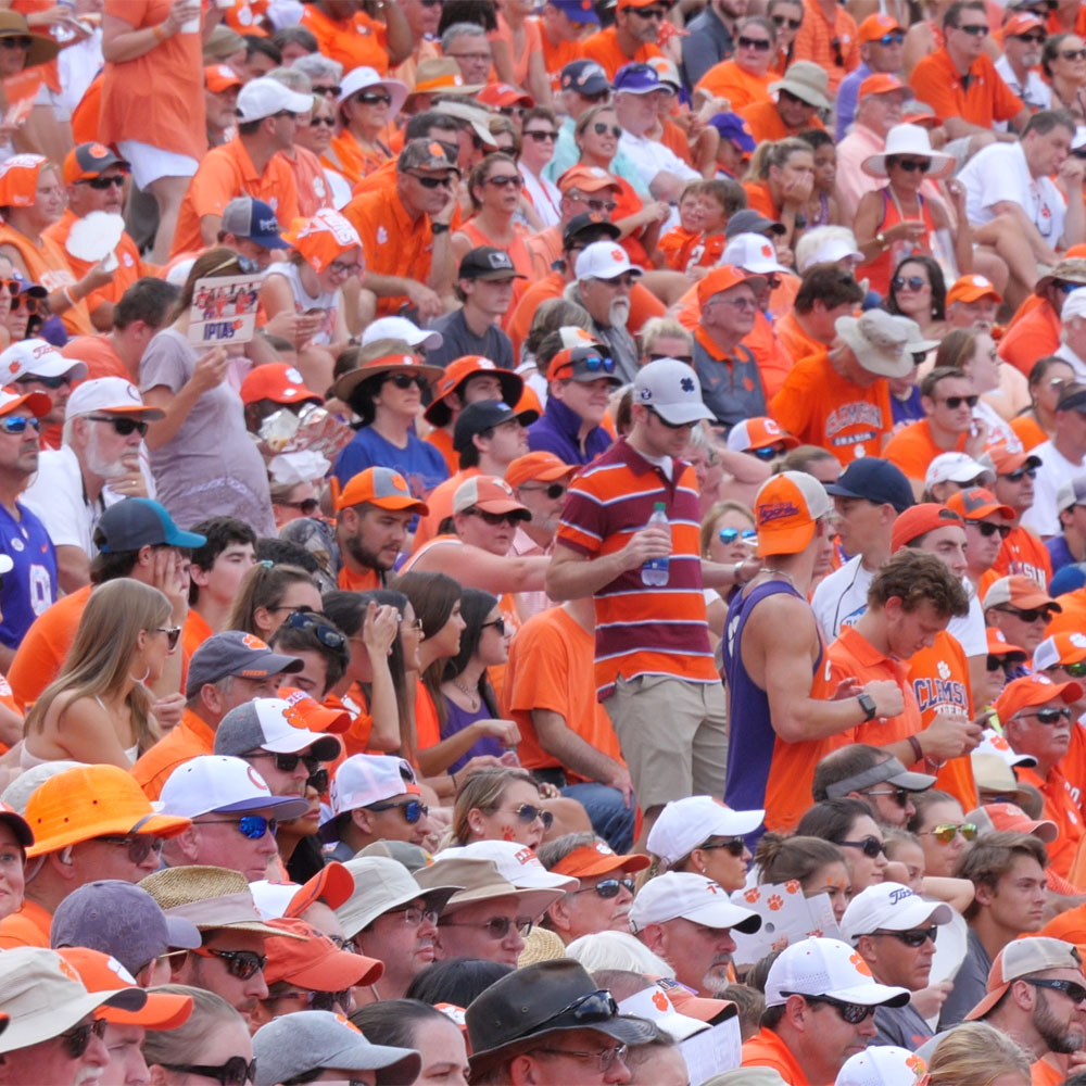 Crowd Counting at Football Game 1