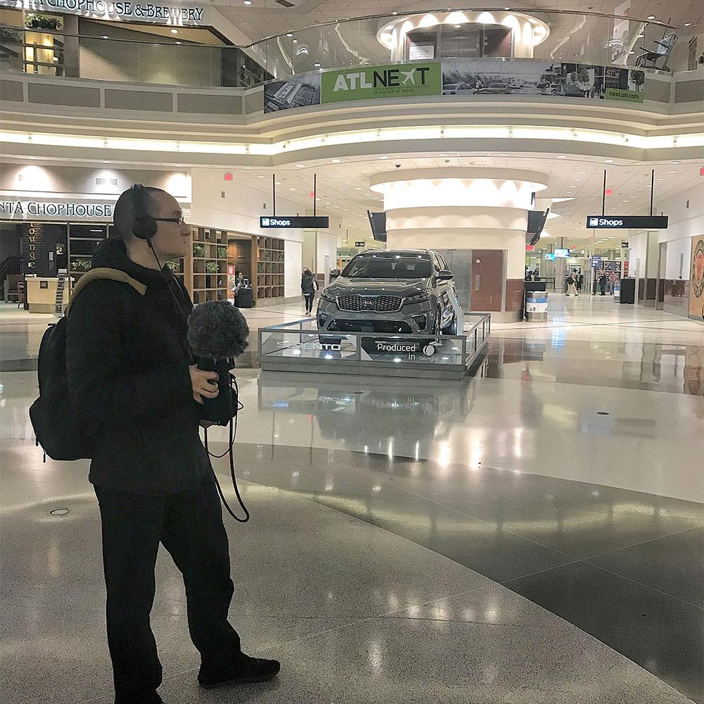 Airport Baggage Claim Area