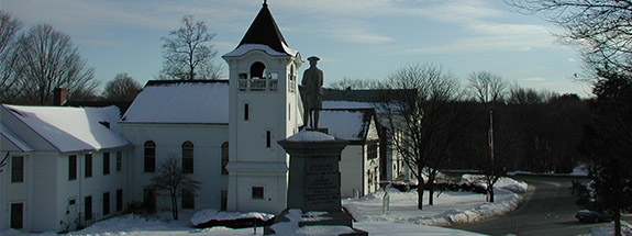 Minuteman Statue and Sudbury Center
