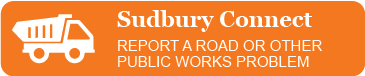 Sudbury Connect - Report a road or other public works problem