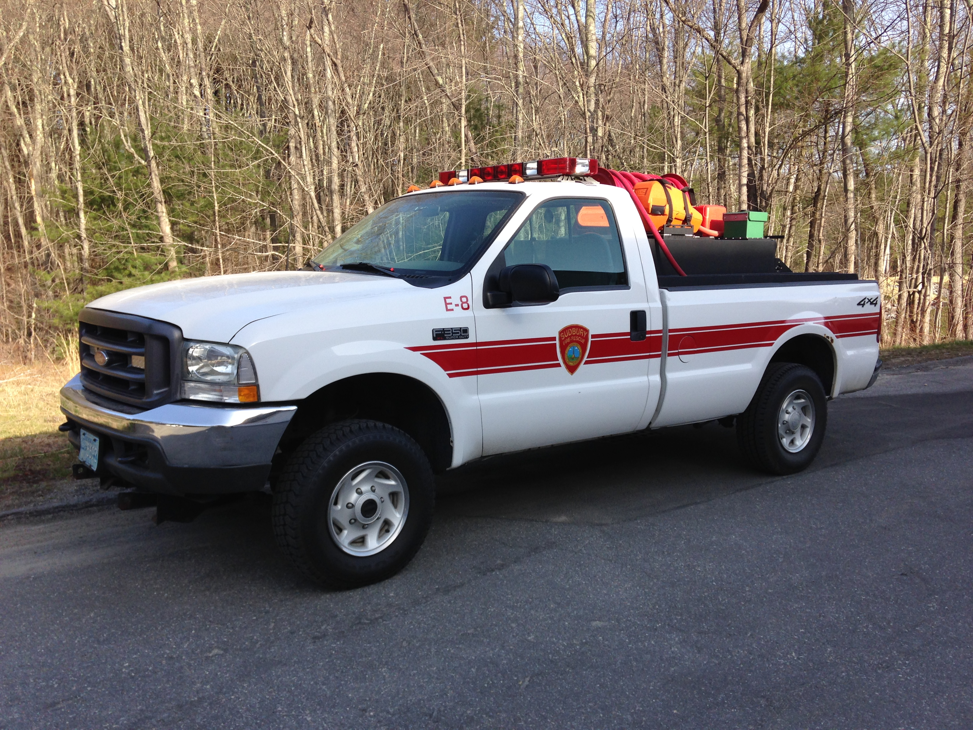 Engine 8 – Brush Truck