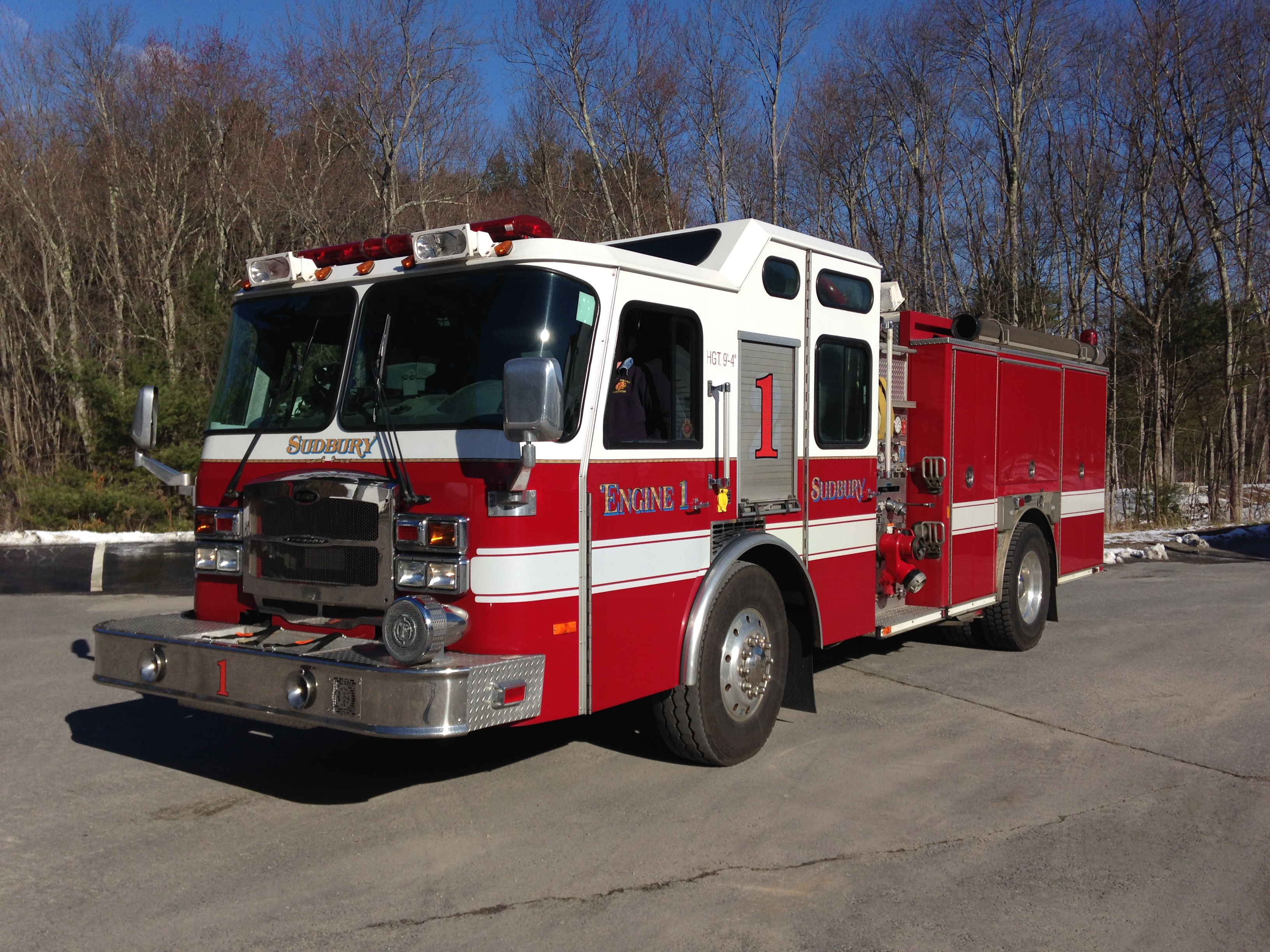 Engine 1 2006 Emergency One Pumper