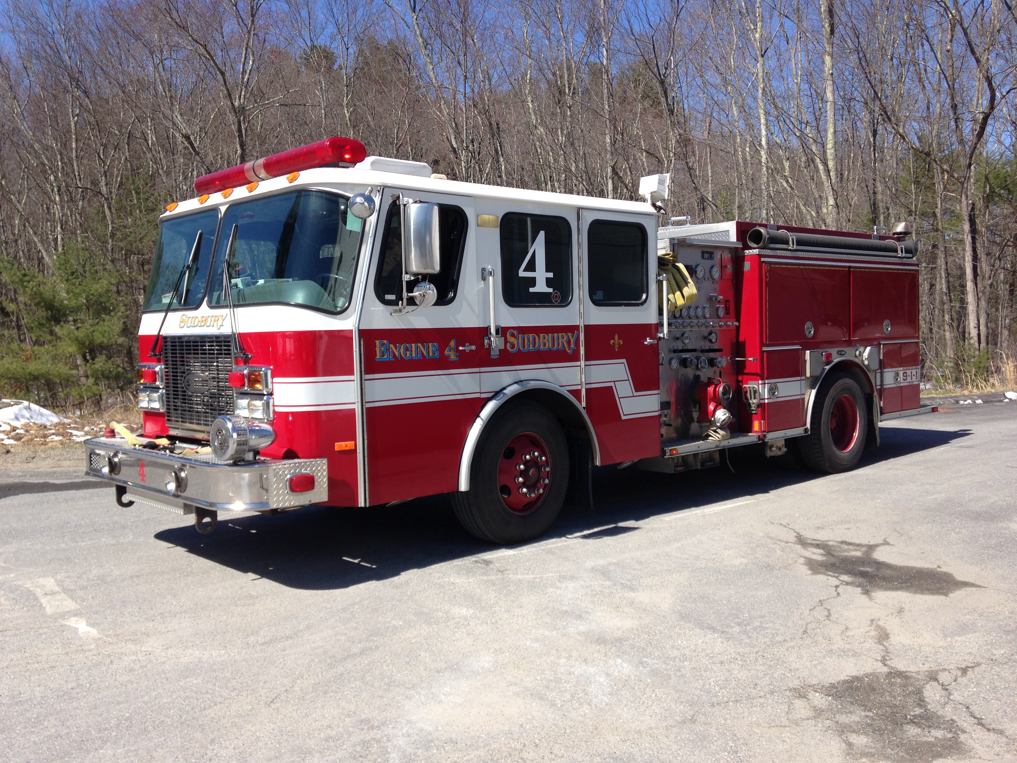 Engine 4 1997 Emergency One Pumper