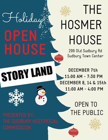 Holiday Open House at Homser House