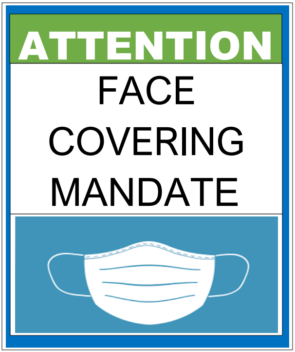 Health Face Covering Mandate