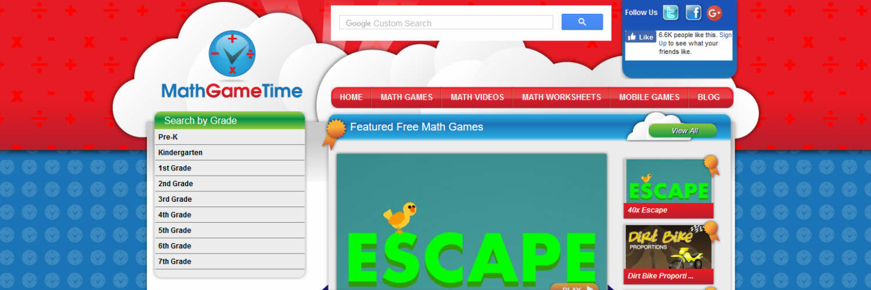 Cool Math Games for Students PreK through 12th Grade - #TeacherFunder