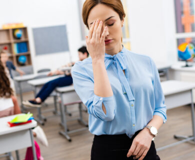 When Teachers Are Exhausted Things Happen