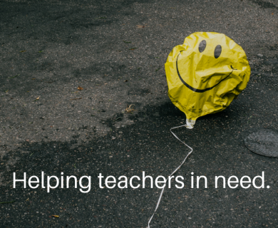 Donate to a Teacher You Know Today!