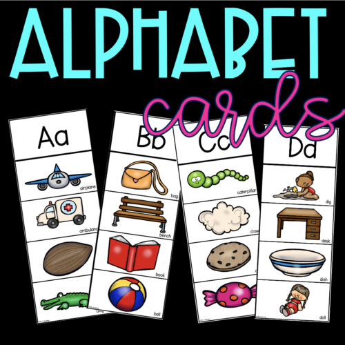 Alphabet Word Cards