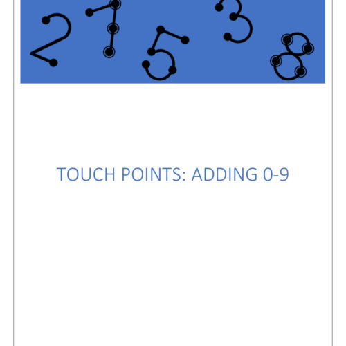 Touch Point Math: Beginning Level: Adding Numbers 0-9