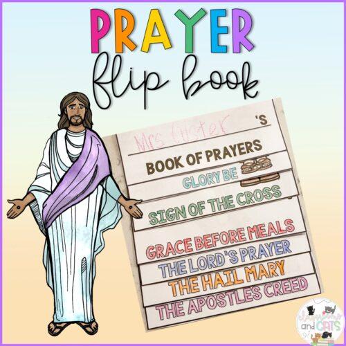 Catholic Prayers Flip Book - Religion - Faith Based