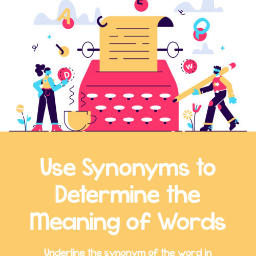 Use Synonyms To Determine The Meaning Of Words's featured image
