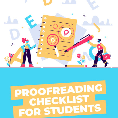 Student Proofreading Checklist's featured image