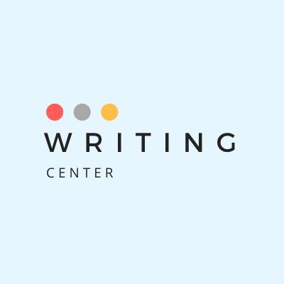 Writing Center Shop