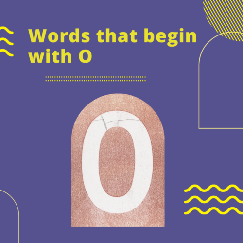 Words that begin with O