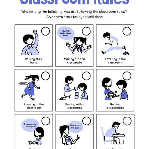 Stars Classroom Rules