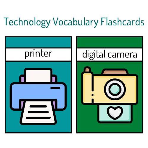 Technology Vocabulary Flashcards