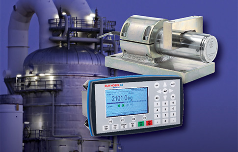 G5 Series process weighing instrument and KIS load Cell