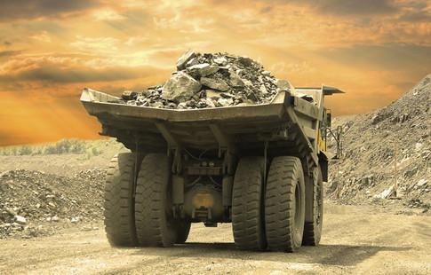 Mining truck image