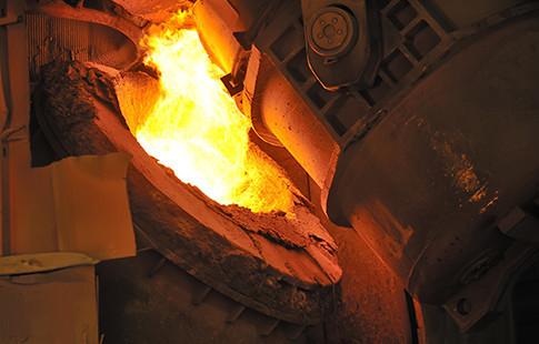 melting tilting furnace image
